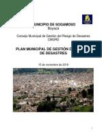 Plan de Gestion Del Riesgo en Sogamoso