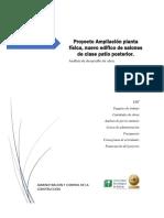 Proyecto Ampliación Planta Física