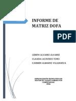 Informe Dofa Gaes