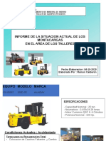 Informe de Los Montacarga Hiunday 2019