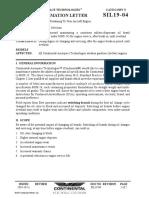 Service information letter