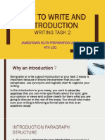 How to Write an Introduction (1)