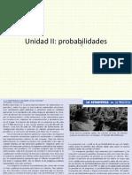Unidad II III Probabilidadesok
