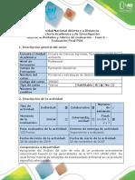 Guía de Actividades y Rúbrica de Evaluación - Fase 6 - Evaluación Final POA