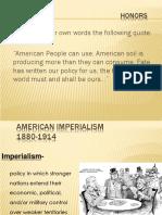 Imperialism Motives