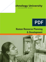 Human Resource Planning Development