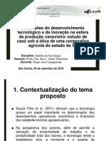 Proposta de Artigo - Slides