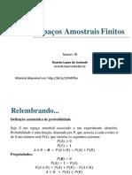 (Aula 2) Espaços Amostrais Finitos.pdf