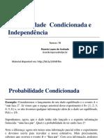 (Aula 4) Probabilidade Condicionada e Independência.pdf