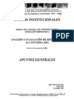 ANALISIS Y EVALUACION DE SISTEMAS DE ALCANTARILLADO.pdf