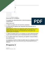 AUTOEVALUCION UN I ADMINISTRACION FINANCIERA