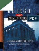 Griego Del Nuevo Testamento