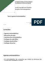 Quimiot Aula 4 Agentes Antimetabolitos 2019