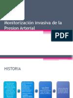 Monitorización invasiva de la Presion Arterial.pptx