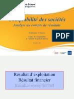 COMPTABILITE DES SOCIETES ET ANALYSE DES ETATS FINANCIERS