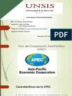 Presentación APEC 1