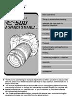 Olympus E500 ENGLISH Manual