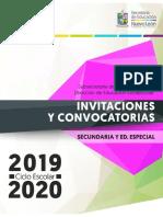 Inv y Conv Dee Secundaria 2019-2020 Web