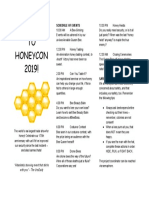 Welcome to Honeycon 2019