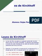 Leyes de Kirchhoff- Rojas Pacheco Joel