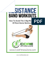 Core Fitness Zone Resistance Bands