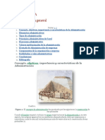 Monografia Administracion General