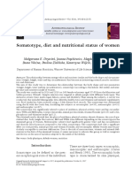 [20834594 - Anthropological Review] Somatotype, Diet and Nutritional Status of Women