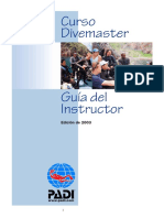 Padi - Instructor Guide - Divemaster Course - Spanisch