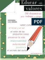 Leal, Giovanna - Educar en Valores 01