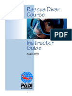 PADI - Instructor Guide - Rescue Diver Course