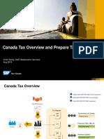 Canada - Prepare Tax Report
