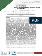 Informe Organica