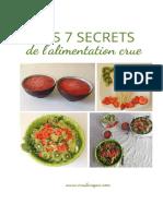 Les 7 Secrets de l'alimentation crue