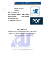 Perfil de proyecto Universidad Rural de Guatemala