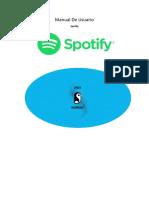 manual de usuario spotify