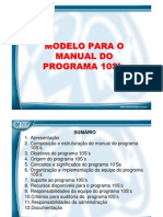 Manual Do Programa 10S's