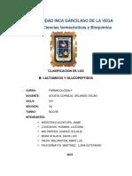 Clasificación de Penicilinas β (1)