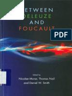Entre Deleuze y Foucault