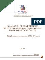 Fascículo 1_Evaluación de Competencias en La Educación Primaria