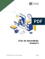 GUÍA DE APRENDIZAJE UNIDAD 4 - Taller de Investigación I