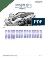 PACCAR MX-13 EPA2013 Diagnostic Manual - P0016 to P060C - Wk19