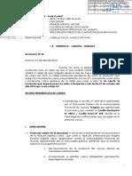 Sentencia Laboral Regimnen Privado Obrero Municiplaidad