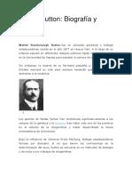 Walter Sutton biografia y aportes