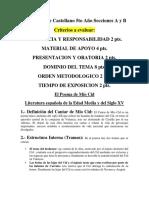 Exposicion de Castellano