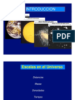 ESCALAS DEL UNIVERSO