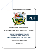 Modelo Documento Base de Contratacion