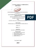 Funcion y Etica de La Administracion Publica