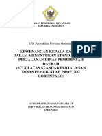 Usulan Bahan Pendapat Perjadis BPK Perwakilan Provinsi Gorontalo1