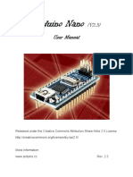 Arduino Nano User Manual