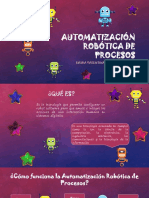 Automatización Robótica de Procesos